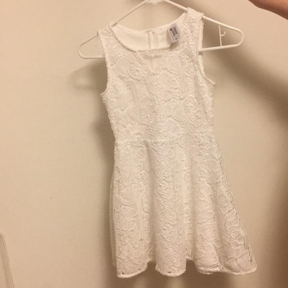 New Ca Kids White Lace Summer Dress Nwt